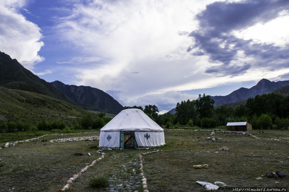The story from Altai about Baba Lena