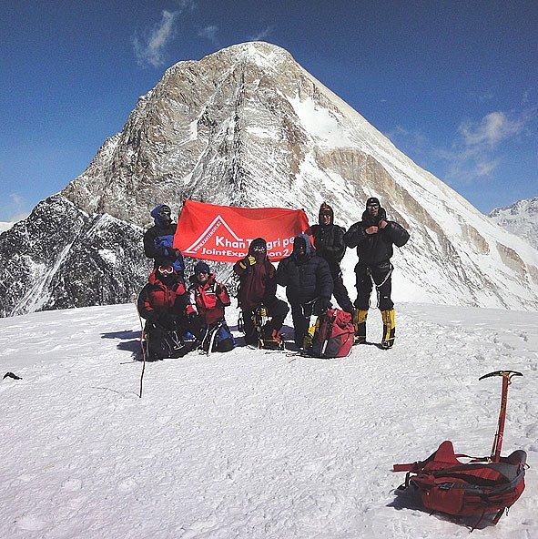 Объединённая экспедиция Хан-Тенгри 2010, отчёт